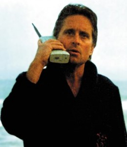 Gordon Gekko and His Big Phone